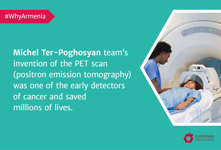 Michel Ter-Poghosyan, an Armenian-American nuclear physicist, was one of the fathers of PET.