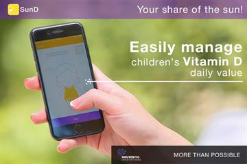 SunD, a new app from Armenia, is the first to measure vitamin D intake from the sun