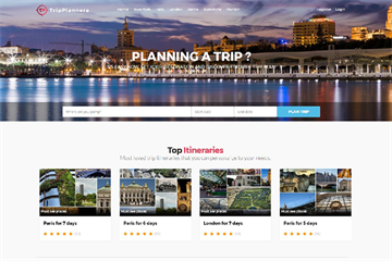 TripPlannera to help tourists plan their travels