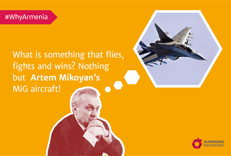Why Armenia: Artem Mikoyan