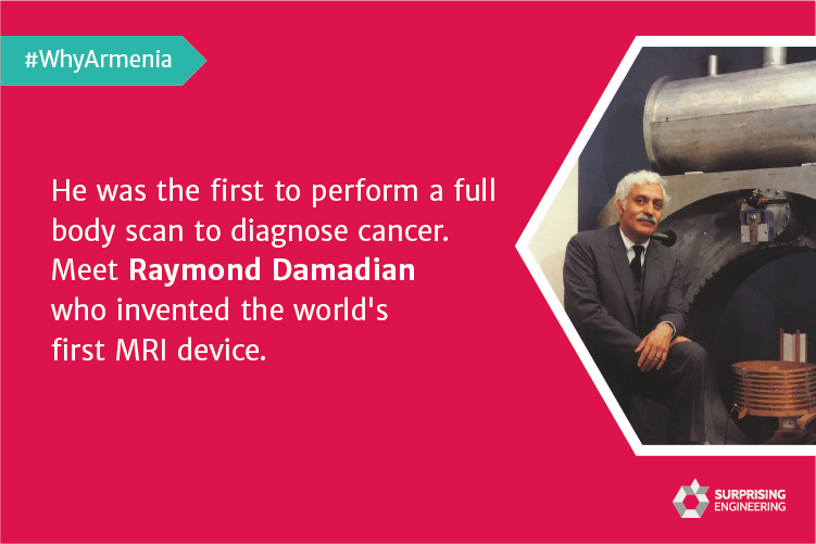 He was the first to perform a full body scan to diagnose cancer. Meet Raymond Damadian who invented the world's first MRI device.