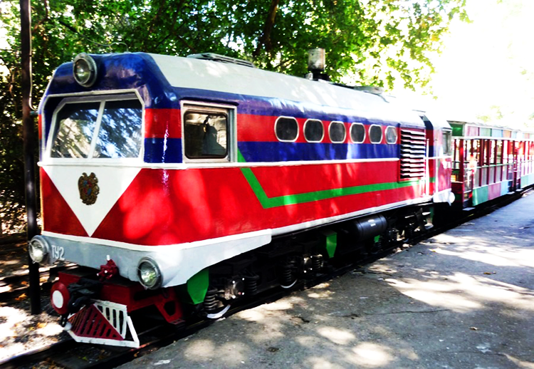 childrens railway yerevan