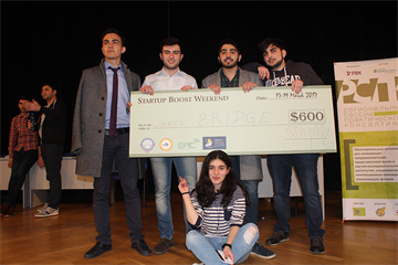 Winners of Startup Boost Weekend are revealed