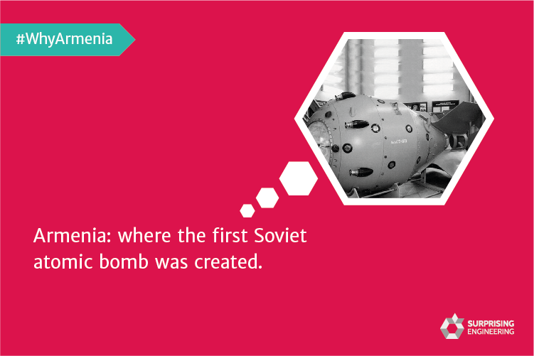 The First Soviet Atomic Bomb Created in Armenia.