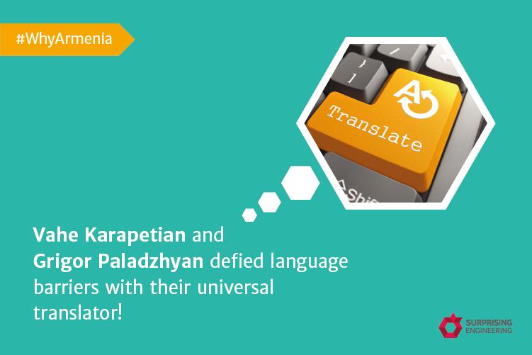 WhyArmenia: Vahe Karapetian and Grigor Paladzhyan